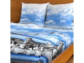 Пододеяльник Гепарды (синий)